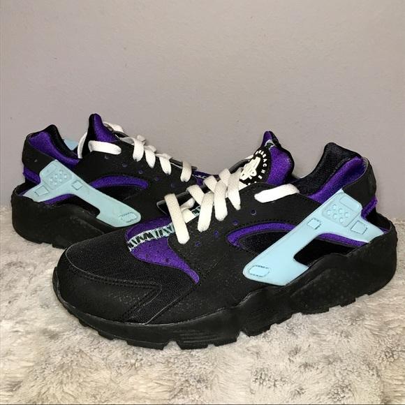 d969ba4b8957 🆕Nike Air Huarache in Black  Blue  Purple 8.5. M 5c3911d604e33da3b0082f4d